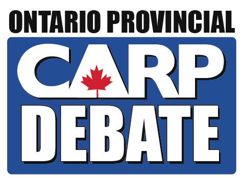 2011 CARP Debate Logo Image