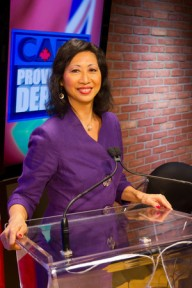 Susan Eng hosts Debate