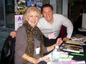 April Lewis & Jeffrey Sefton at Live Well with Diabetes Public Health Forum