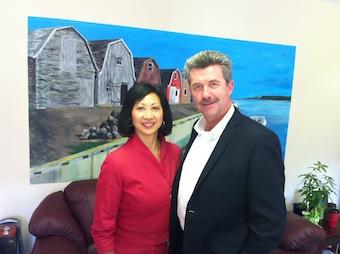 Susan and Wes Sheridan