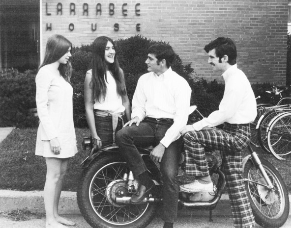 college in the 1970s