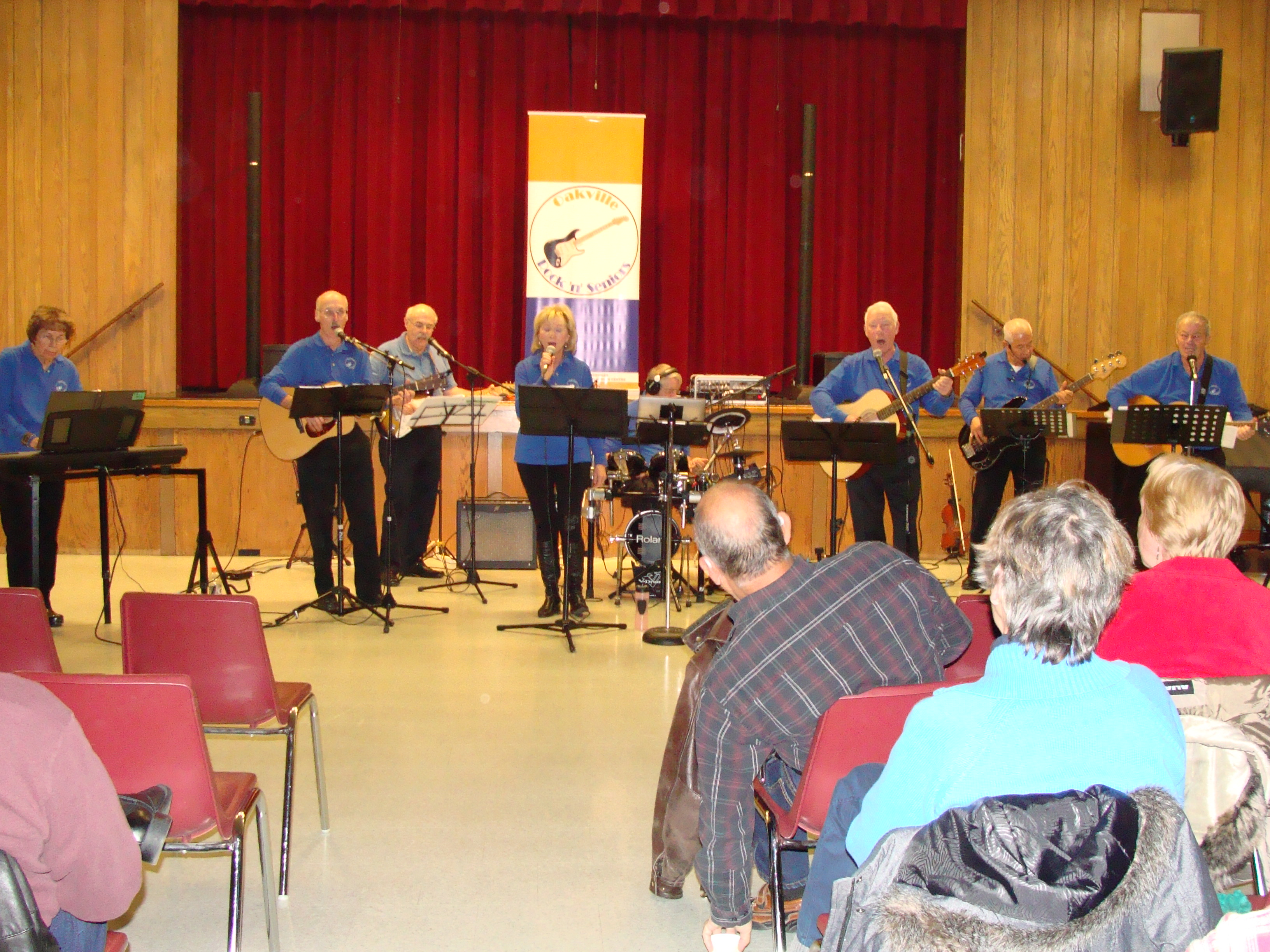 Oakville's Rock'n'Seniors entertain at Milton