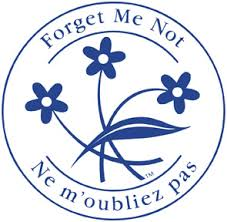 'forget me not' logo
