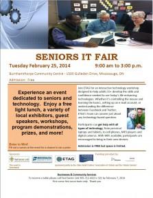 Seniors IT Fair