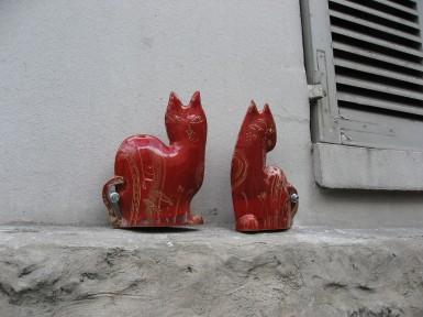 Cats in Montmartre