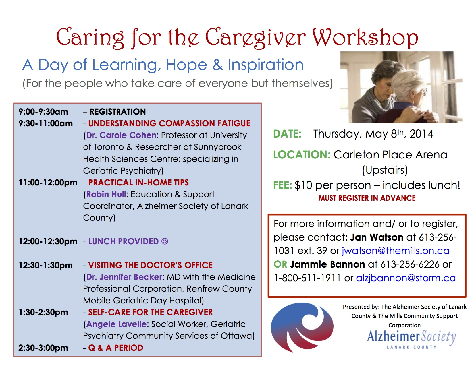 Caring for the Caregiver POSTER