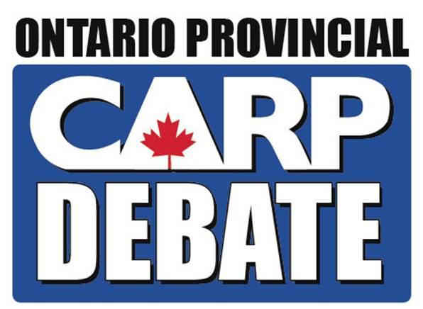 CARP Provincial Debate Logo