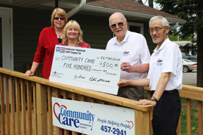 Cheque to CCAC
