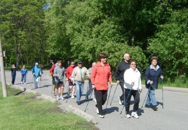 Nordic Pole Walking Group 1