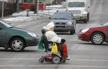 wheelchair lady