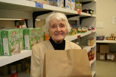 Senior uptake of food bank type programs is on the rise
