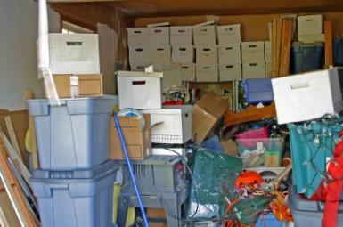 Garage Clutter - Landscape