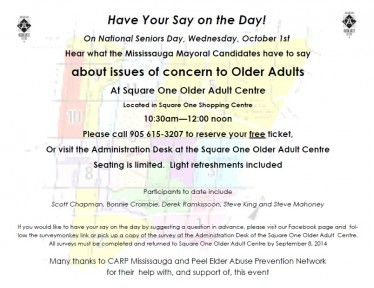 Have your say on the day