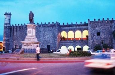 The zocalo in cuernavaca