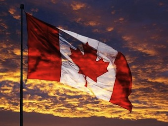 Canadian-Flag-at-Sunset1