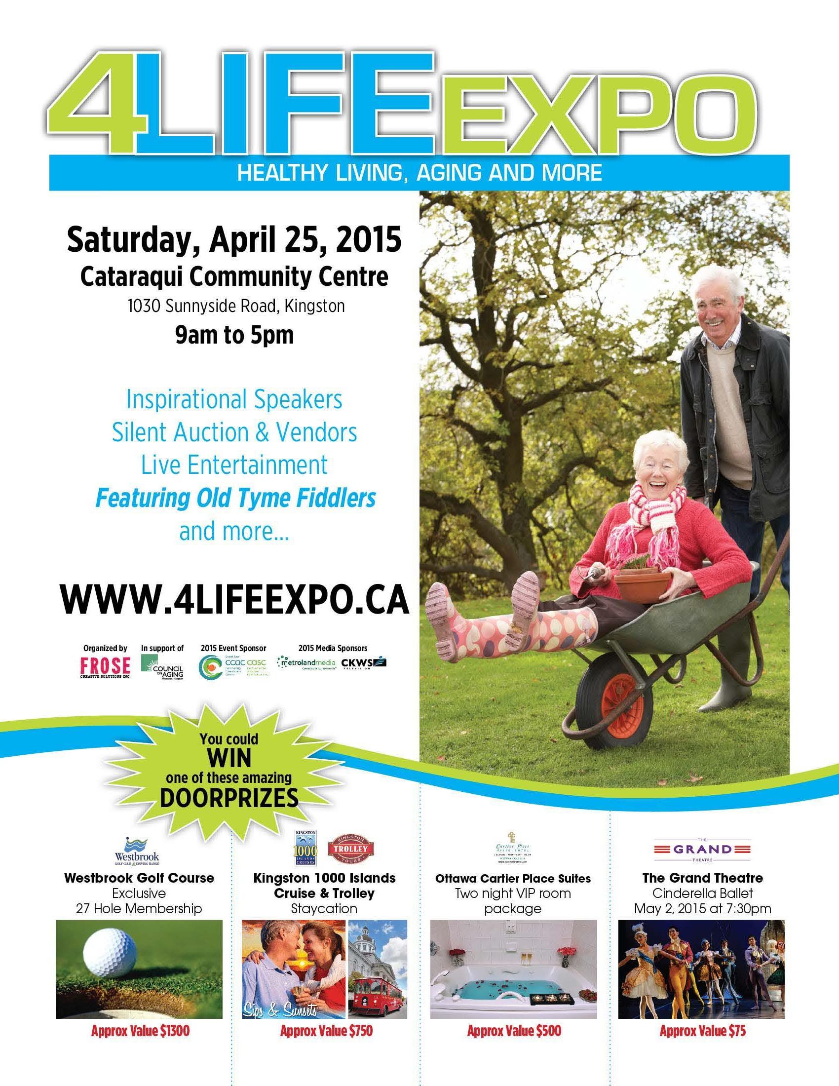 4 Life Expo in Kingston April 25th, 2015