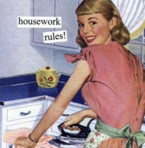 Housework Rules LARGE
