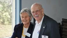 CARP Chair, Bob Stinson & Lois Rigney promoting the Big Bike