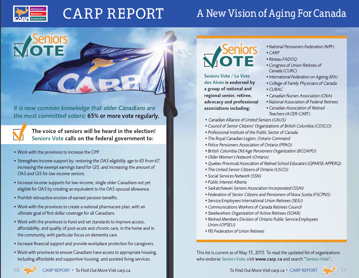 CARP Report, Insurance Insights May 2015 2nd page