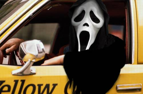 Ghostface Taxi Driver