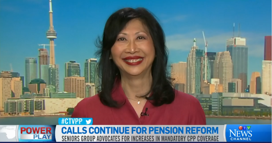 Susan Eng interview on CTV Power Play, CPP expansion announcement May 27