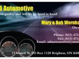 mb automotive business card