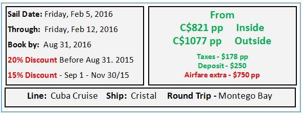 CARP Cuba Cruise