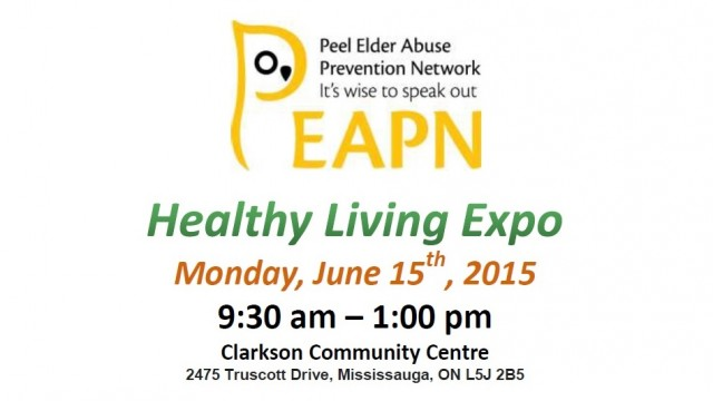 Free Lunch at PEAPN Healthy Living Expo f