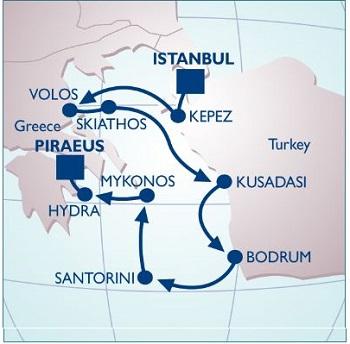 Turkey and Greek Islands Cruise Holidays Travelogue