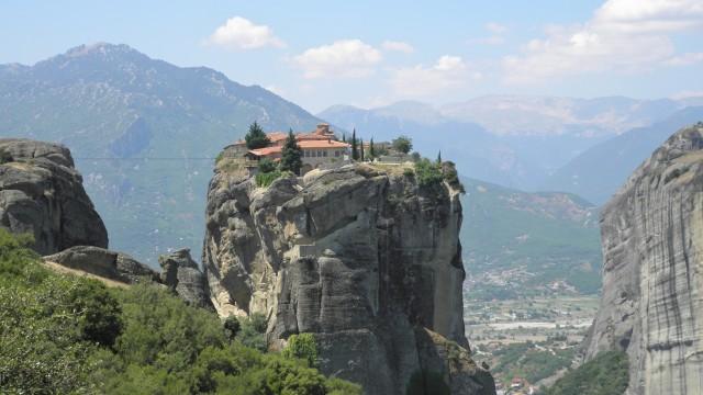 Meteora Monastery - Turkey and Greek Islands Cruise Holidays travelogue