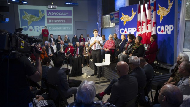 TrudeauCARP Town Hall 2015