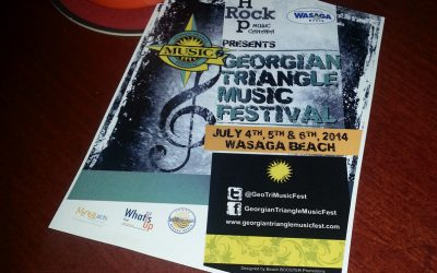 Fun, Sun and Live Music at The Georgian Triangle Music Festival