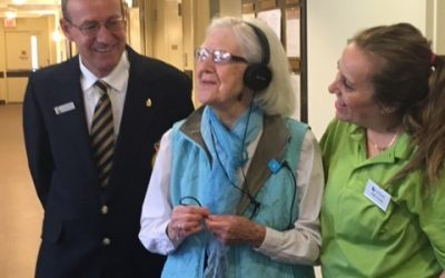 Music Triggers The Memories at Chartwell Georgian Traditions Retirement Residence in Collingwood