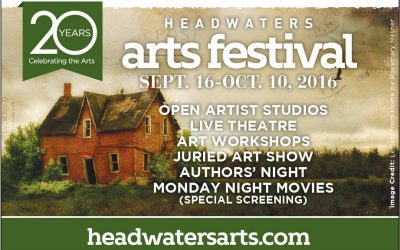 The Art Beat Of Rural Ontario….Headwaters Arts Festival Show and Sale Is Celebrating Their 20th Year