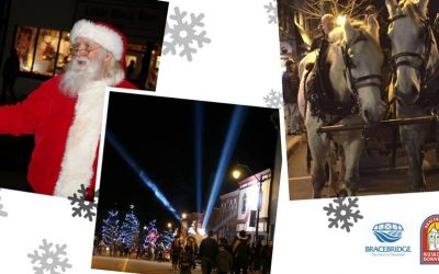 Bracebridge Is Kicking Off The Holidays With Santa's Moonlight Shopping Party