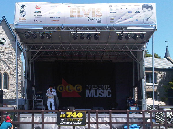 The New Am 740 At The 2012 Collingwood Elvis Festival