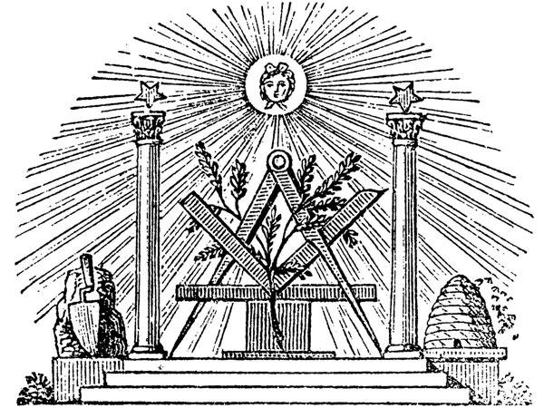 Freemason imagery