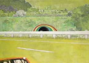 peter-doig-s-country-rock-wing-mirror
