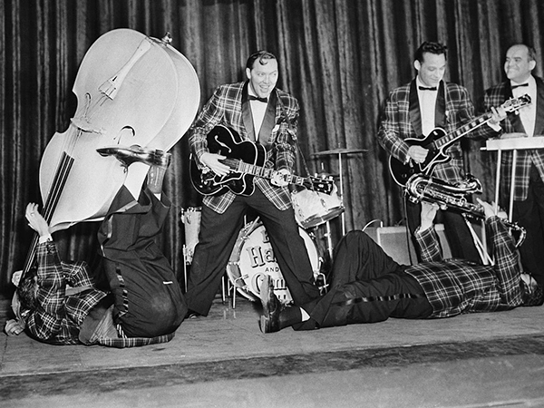 Bill Haley & His Comets at a Rehearsal