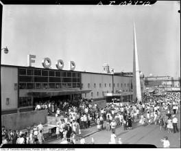 Food building 1950s