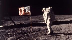 First Moon Walk