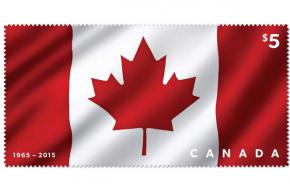 Fabric Maple Leaf stamp