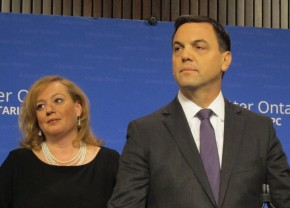 MAILMASTER  Subject: photos of Tory Leader Tim Hudak and PC energy critic MPP Lisa MacLeod On 2014-03-31, at 10:52 AM, Carter, Matt wrote: From: Brennan, Richard  Sent: March 31, 2014 10:33 AM To: Cesca, Stephanie; Carter, Matt Subject: FW: photos of Tory Leader Tim Hudak and PC energy critic MPP Lisa MacLeod Tory Leader Tim Hudak and Progressive Conservative MPP Lisa MacLeod preside over a press conference at Queen's Park where they react to the threat of lawsuit by Kathleen Wynne over the OPP investigation into the destruction of government emails. Richard J. Brennan Toronto Star Queen's Park Bureau (o) 416-325-9893 (c) 647-622-8210 Twitter: @rjbrennan  IMG_2218.jpg  IMG_2212.jpg  IMG_2214.jpg