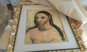 picasso head of a young woman