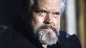 FILE - This Feb. 22, 1982 file photo shows actor and movie director Orson Welles during a press conference in Paris.