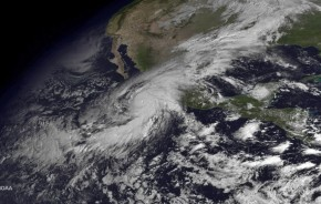 Hurricane Patricia Approaches