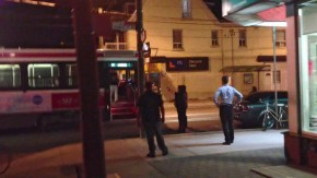 Sequence of stills 1 of 6 from video posted by YouTube user Markus Grupp showing Toronto Police shooting of Sammy Yatim, 18, on TTC streetcar at Dundas and Bellwoods early on Saturday, July 27, 2013. MARKUS GRUPP STILL FROM VIDEO, MUST CREDIT http://www.youtube.com/watch?v=Pi4In494rAg 416-455-0435