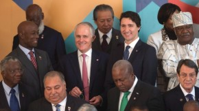 Trudeau Commonwealth