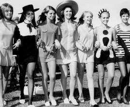60s mini-skirts