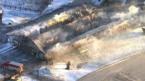 Puslinch Barn Fire